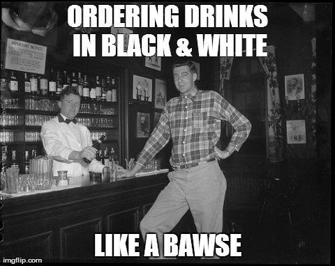 Old Bartender Meme