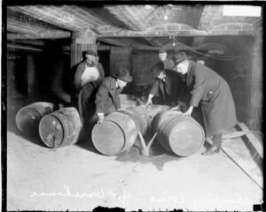The purpose and consequences of the prohibition law in the 1920s in america
