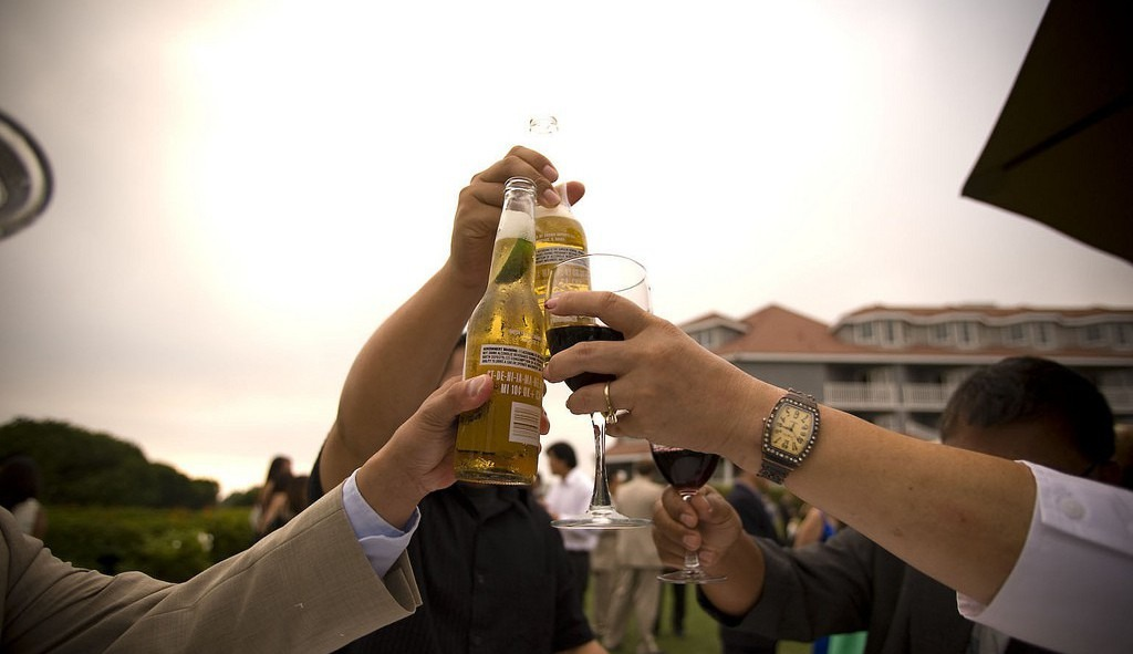 Open Bar Wedding (Photo Credit: Bernard Delmundo)