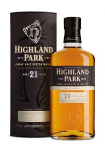 Highland Park 21 year old Whisky