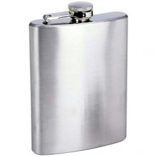 "8oz ""Economy"" Hip Flasks - No Personalization"
