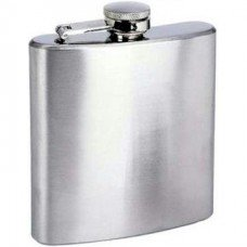 "6oz ""Economy"" Flasks, Bulk Lot of 25 ($5.51 each) - No Personalization"