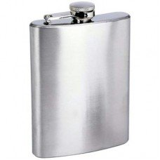 "8oz ""Economy"" Flasks, Bulk Lot of 25 ($5.74 each) - No Personalization"