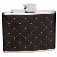 4oz Classic Elegant Pattern Hip Flask