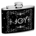 "4oz ""Joy with stars"" Flask"
