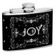 """4oz """"Joy with stars"""" Flask"""