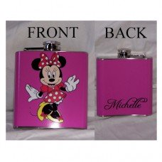 """6oz """"Design Your Own"""" Hip Flask with your Picture or Photo"""