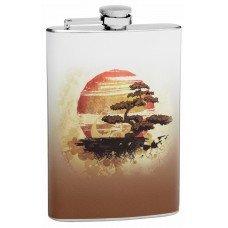8oz Bonsai Tree Hip Flask