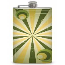 """8oz """"Retro 70's Theme"""" Flask"""