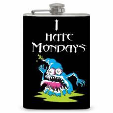 "8oz ""I hate Mondays"" Flask"