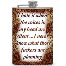 "8oz ""I hate it when..."" Flask"