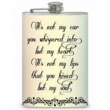 "8oz ""Sweet Nothing"" Flask"