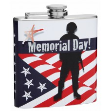 6oz Flask to Celebrate Memorial Day