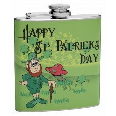 6oz St. Patrick's Day Hip Flask