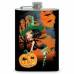"8oz Halloween ""Sexy Witch"" Flask"