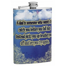 8oz Hip Flask for Fathers