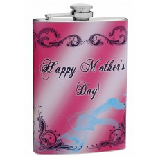 8oz Mother's Day Hip Flask for Mom