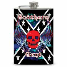 "8oz ""Southern Gent"" Flask"