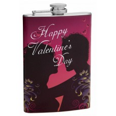 8oz Hip Flask for Valentine's Day