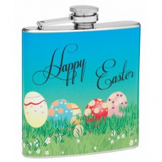 Easter Theme 6oz Hip Flask