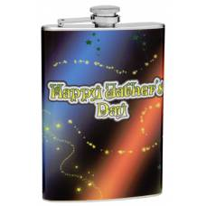 "8oz ""Father's Day"" Flask"