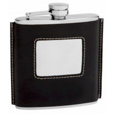 6oz Traditional 1920's Style Hip Flask