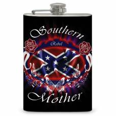 "8oz ""Southern Mother"" Flask"