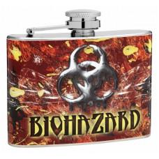 Bio Hazard 4oz Hip Flask