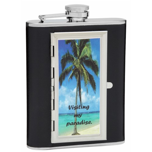 Design Or Create Your Own Custom Cigarette Case Hip Flask With Your