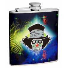 The Evil Clown 6oz Hip Flask - F6TFMEC1