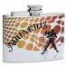 "Aquarius ""Sign of the Zodiac"" 4oz Flask"
