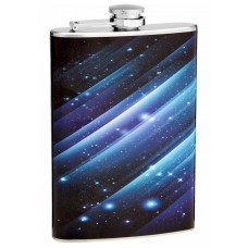 8oz Deep Space Hip Flask