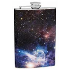 "8oz ""The Cosmos"" Carina Nebula Hip Flask"