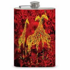 "8oz ""Giraffe"" Flask"
