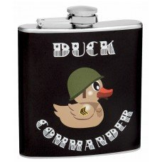6oz Duck Commander Theme Hip Flask