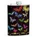 8oz Colorful Butterflies Hip Flask
