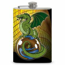 "8oz ""Dragon Ball"" Flask"