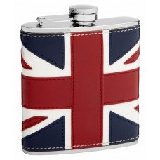 6oz British Flag Hip Flask
