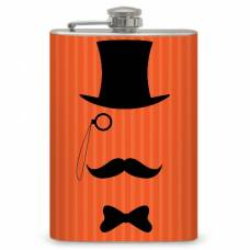 "8oz ""Old-Fashioned Gentleman"" Flask"
