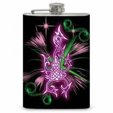 8oz Pink Neon Tribal Design