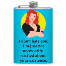 "8oz ""I don't Hate You"" Flask"