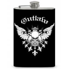 "8oz ""Outlaw"" Flask"