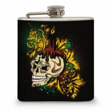 6oz Skull Candle