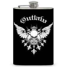 "8oz ""Outlaw"" Flask"