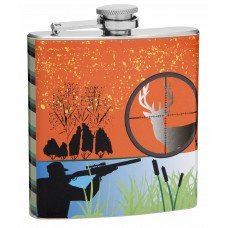 6oz Hip Flask for Hunting Enthusiasts