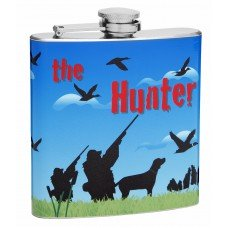 6oz Hip Flask for Hunters