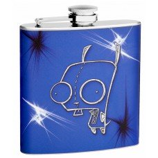 "6oz ""Zipper Guy"" Hip Flask"