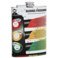 "8oz ""Alcohol Poisoning"" Hip Flask"