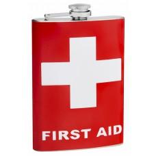 8oz First Aid Hip Flask