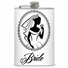 "8oz ""Bride"" Flask"